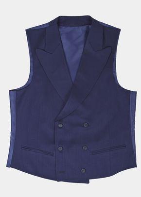 Navy-night-waistcoat, Silbon