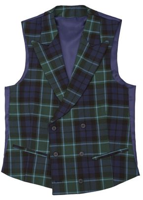 Tartan-green-short-neck, Silbon