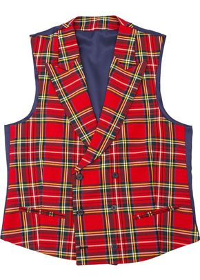 Tartan-red-short-neck, Silbon