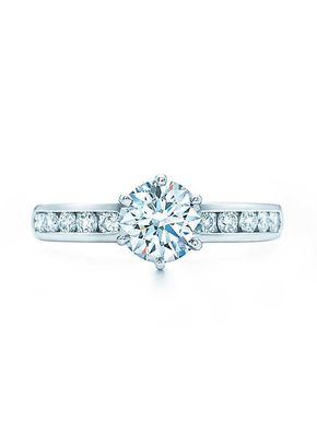 THE TIFFANY SETTING  WITH DIAMOND BAND, Tiffany & Co.