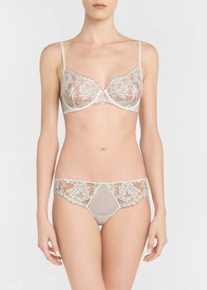 Lawinia Rose white set, La Perla