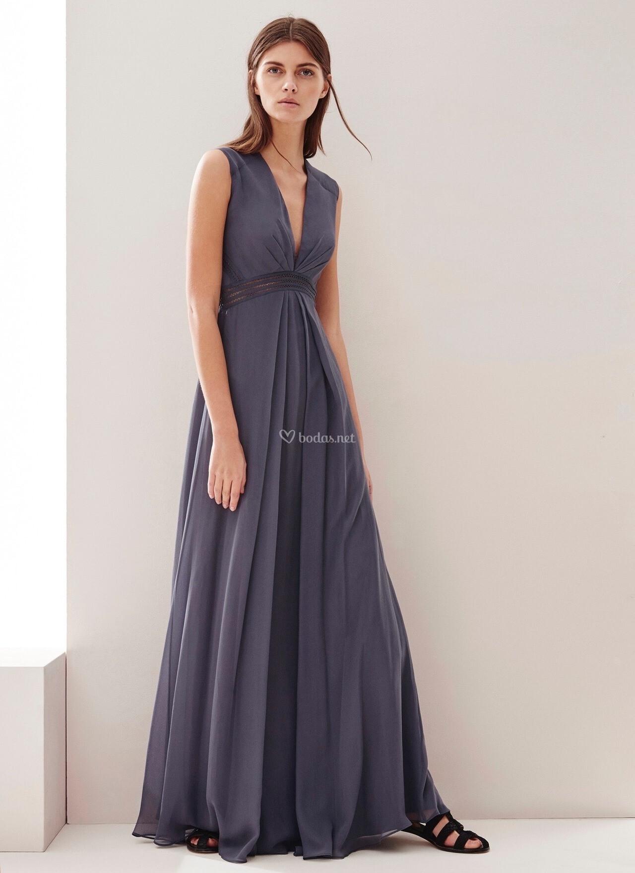 vestido de fiesta de adolfo dom nguez 293165234161