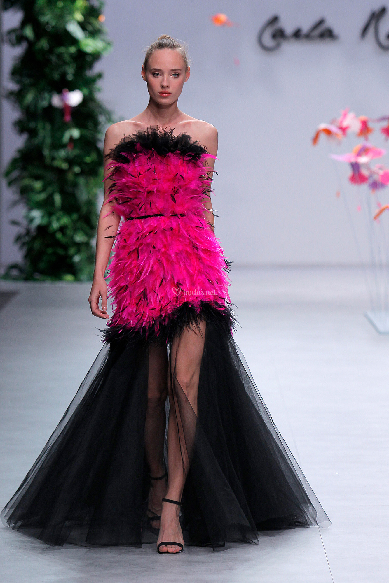 Vestido de Fiesta de Carla Ruiz - CR 032