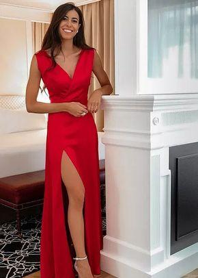 DALIA Rojo satén , 1362