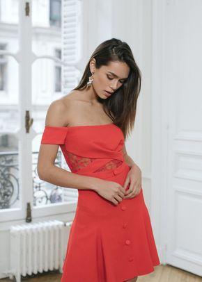 Tiquetonne rouge, Rime Arodaky