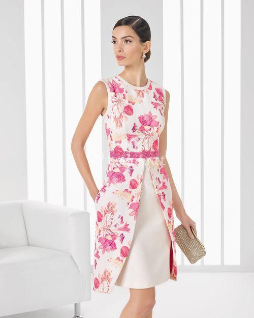 Vestidos de Fiesta Vestidos de Fiesta Rosa Clará 2016 9T123 COCKTAIL ...