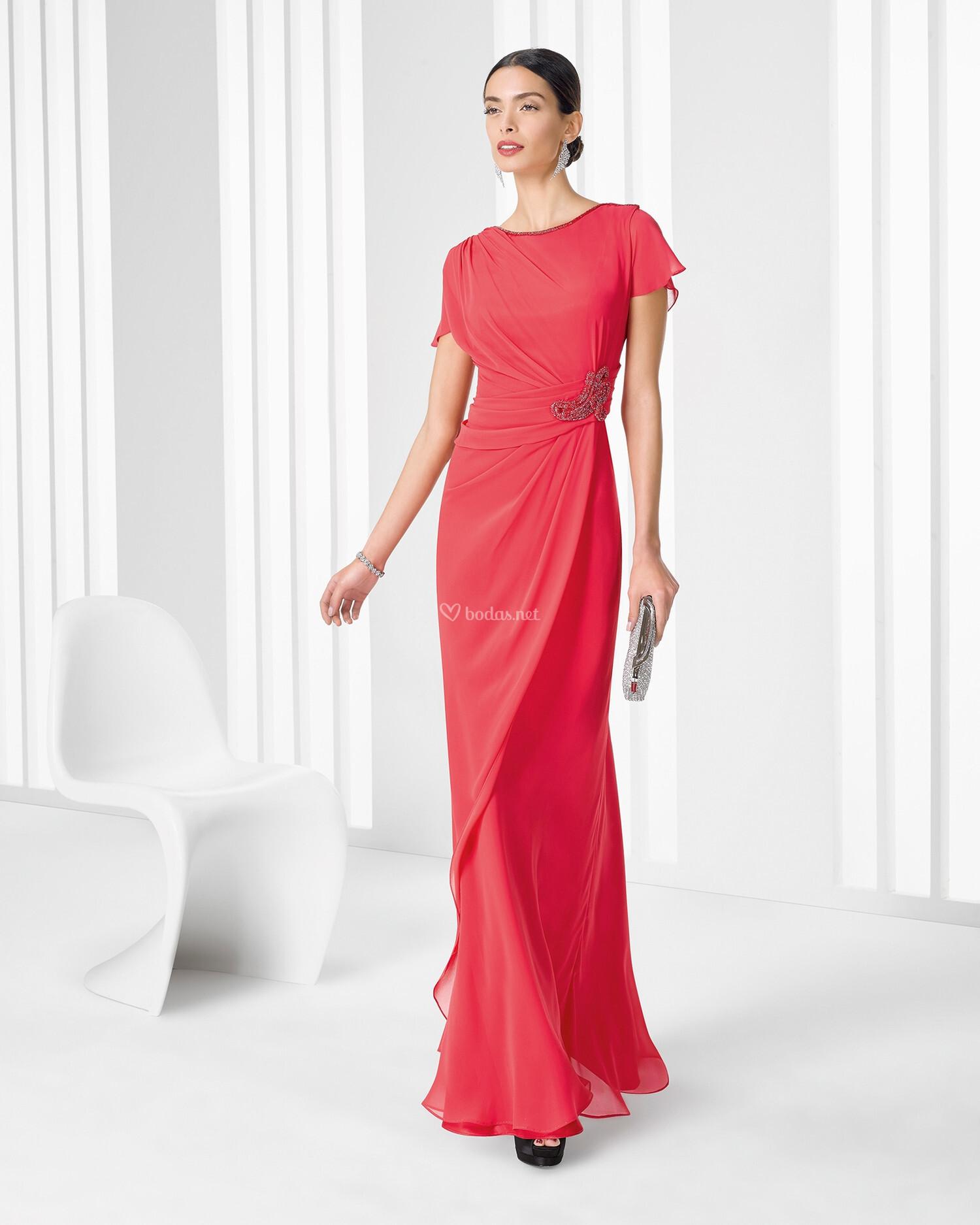 Vestido de fiesta de rosa clar 2016 9t222 cocktail rosa for Cocktail 222