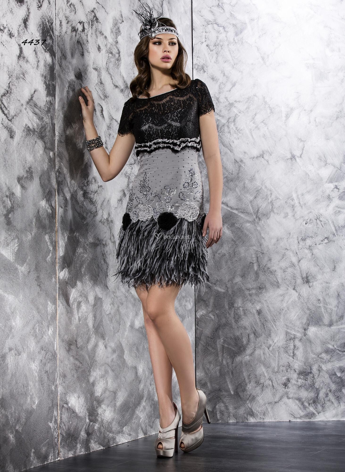 4437 vestido de fiesta valerio luna - Fiesta anos 20 ...