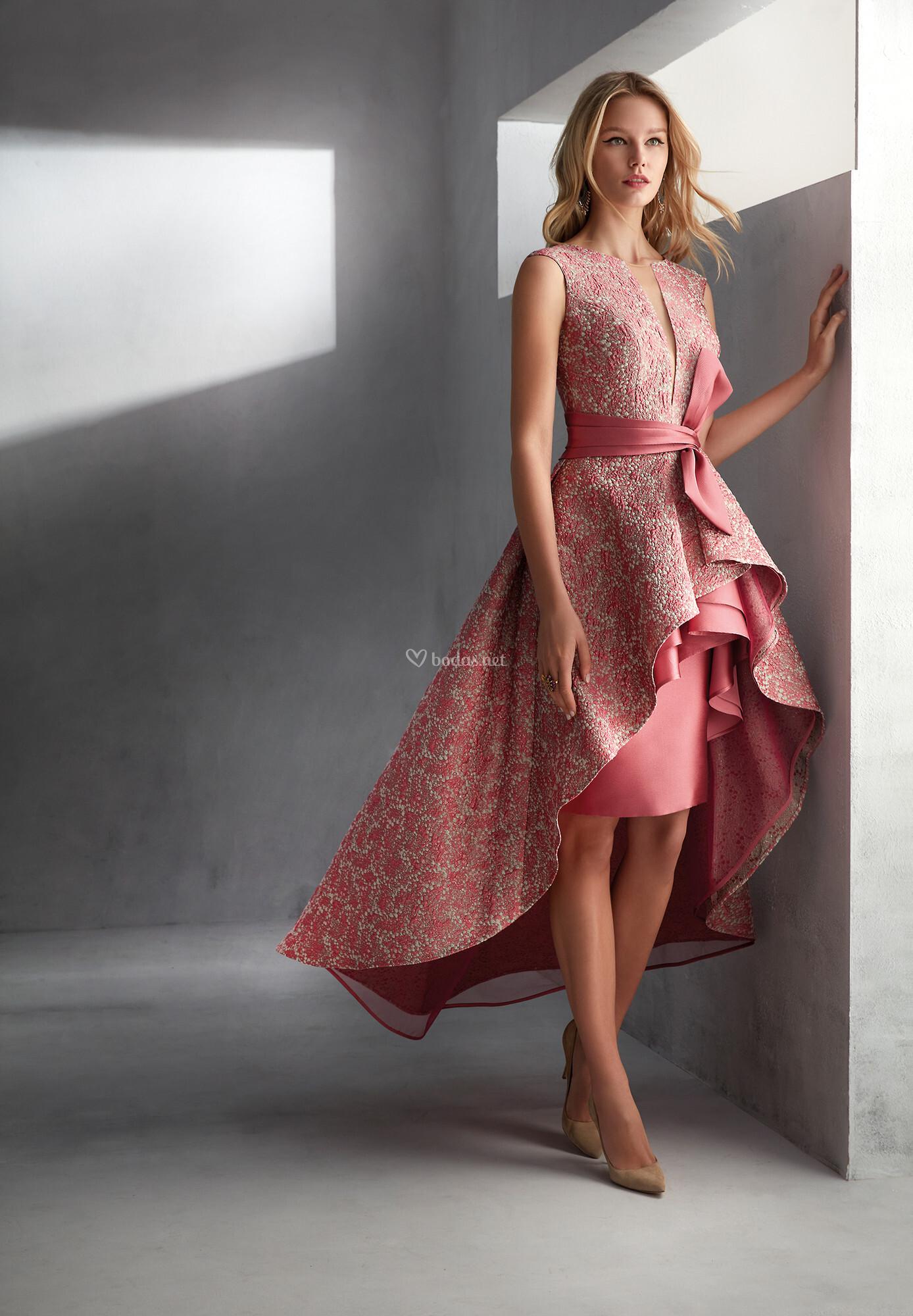 Vestidos madrina boda cortos