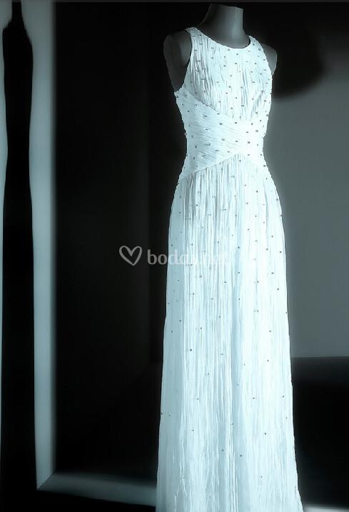 look 7 vestido de novia adolfo dom nguez