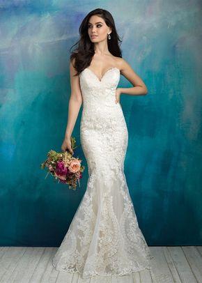 9516, Allure Bridals