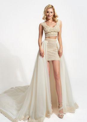 Theoni & Mini Skirt Opulence, Atelier Zolotas