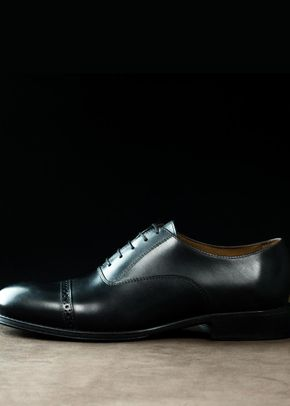 Oxford Brogue in Black, Cooper & Troy