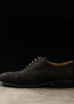 Oxford Brogue in Suede, Cooper & Troy