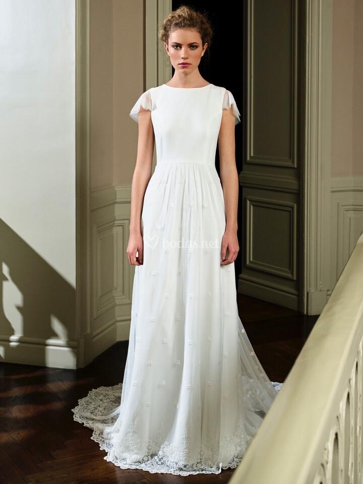vestidos de novia de david christian - bodas