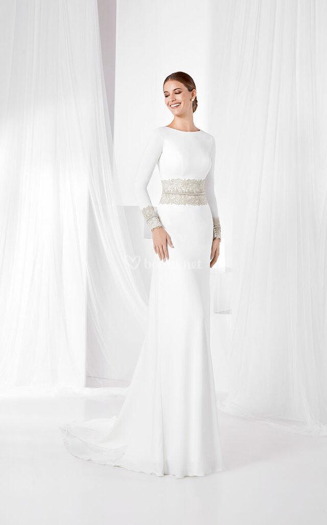vestidos de novia de franc sarabia - bodas