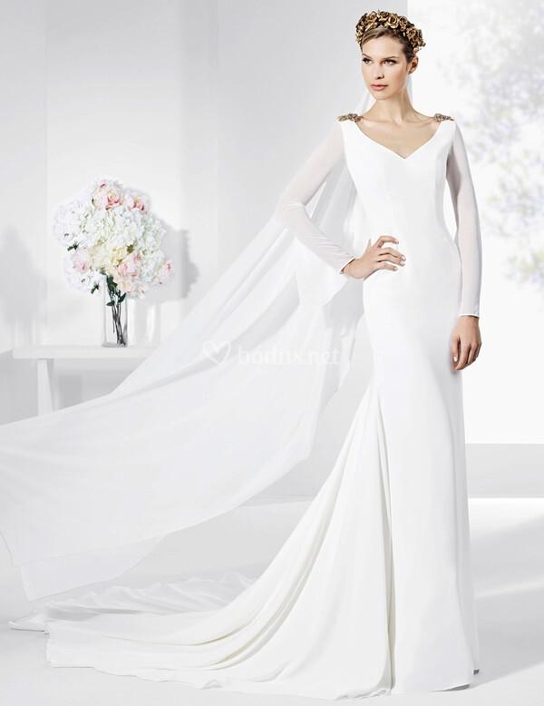 vestidos de novia de franc sarabia - 2017 - bodas