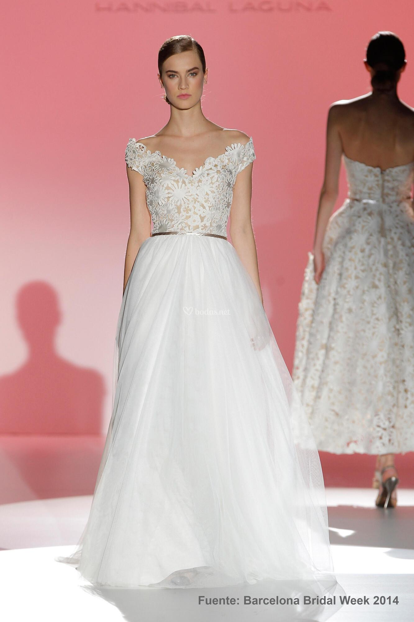 Fantástico Vestidos De Novia Elegantes 2014 Galería - Colección de ...