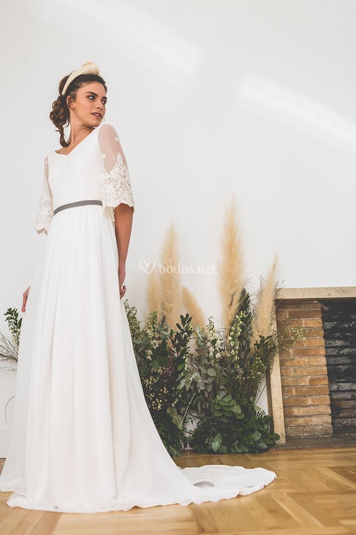 vestidos de novia de lucía de miguel - bodas