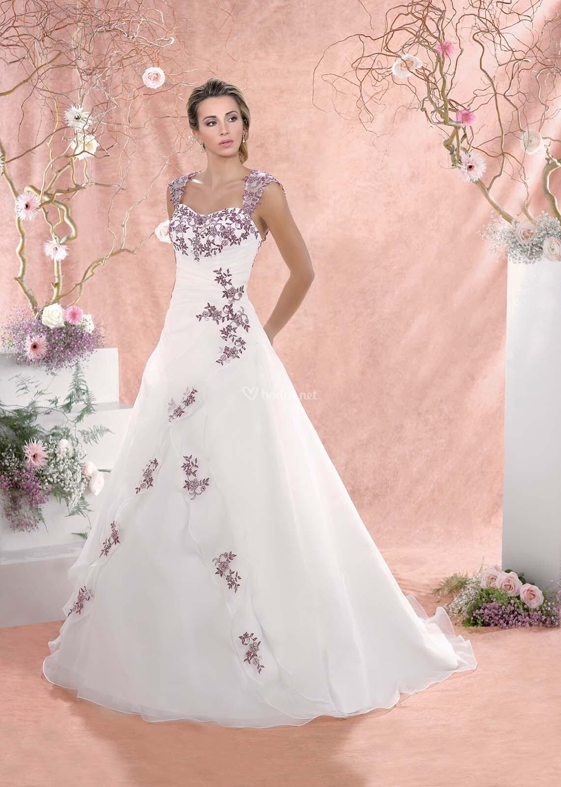 Fantástico Vestido De Novia De Badgley Mischka Ideas Ornamento ...