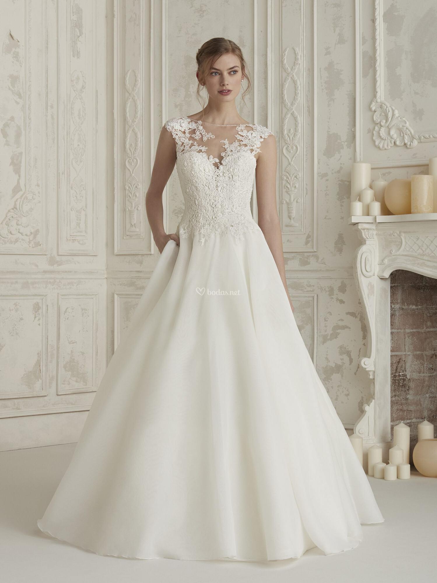 vestidos de novia de pronovias