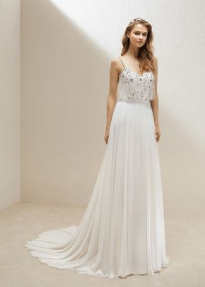SKIRT ULULA /  TOP ULLOA , Pronovias