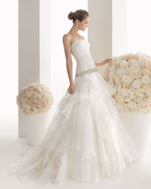 حصرى البوم صور فساتين زفاف اسبانى موضة 2015