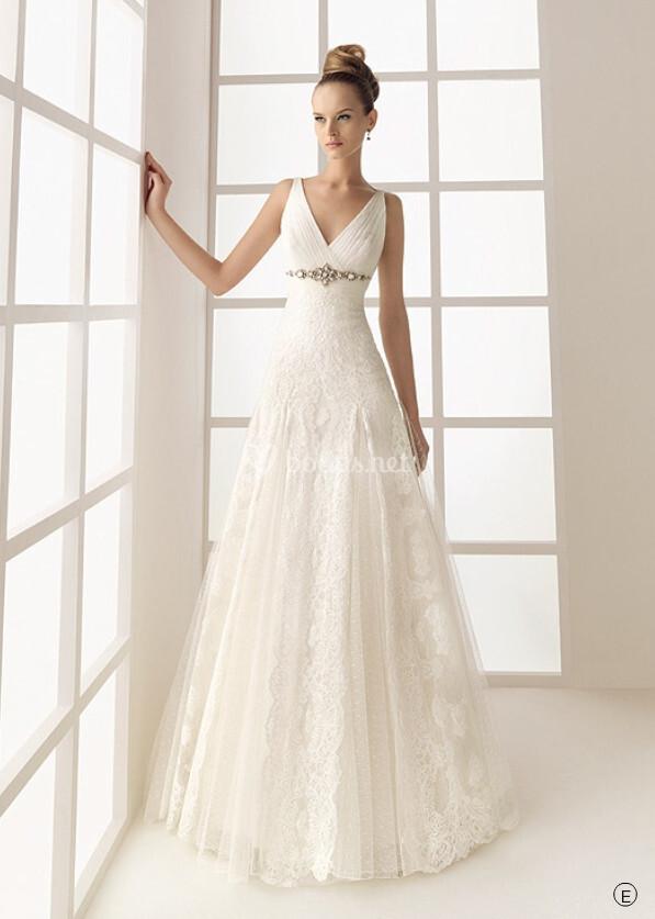 vestidos de novia outlet de rosa clara