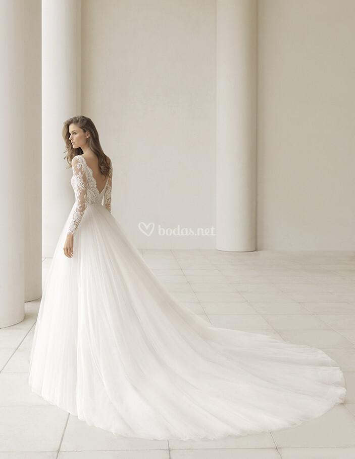 vestidos de novia de rosa clará - 2018 - bodas