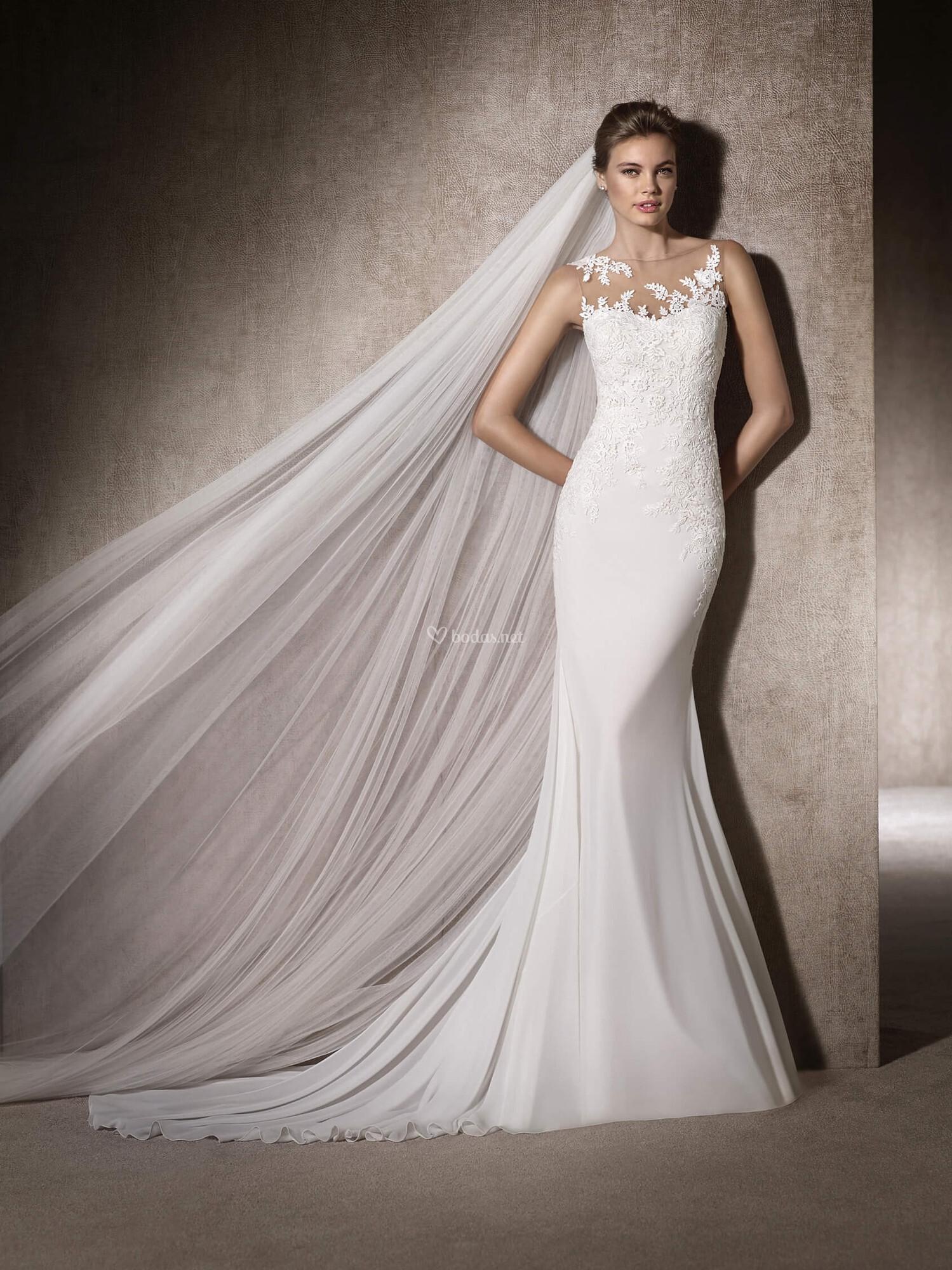 Vestidos de novia patrick 2019