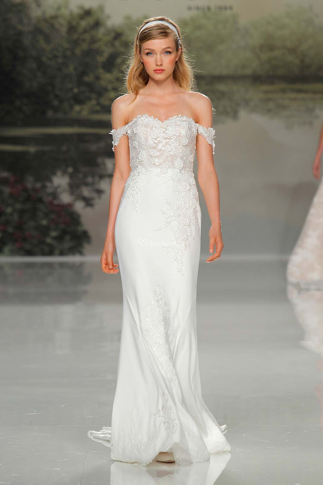 vestido de novia de st  patrick