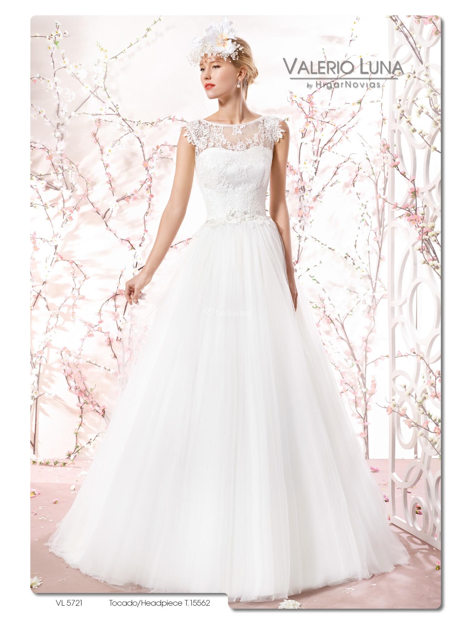 Precios vestidos novia valerio luna