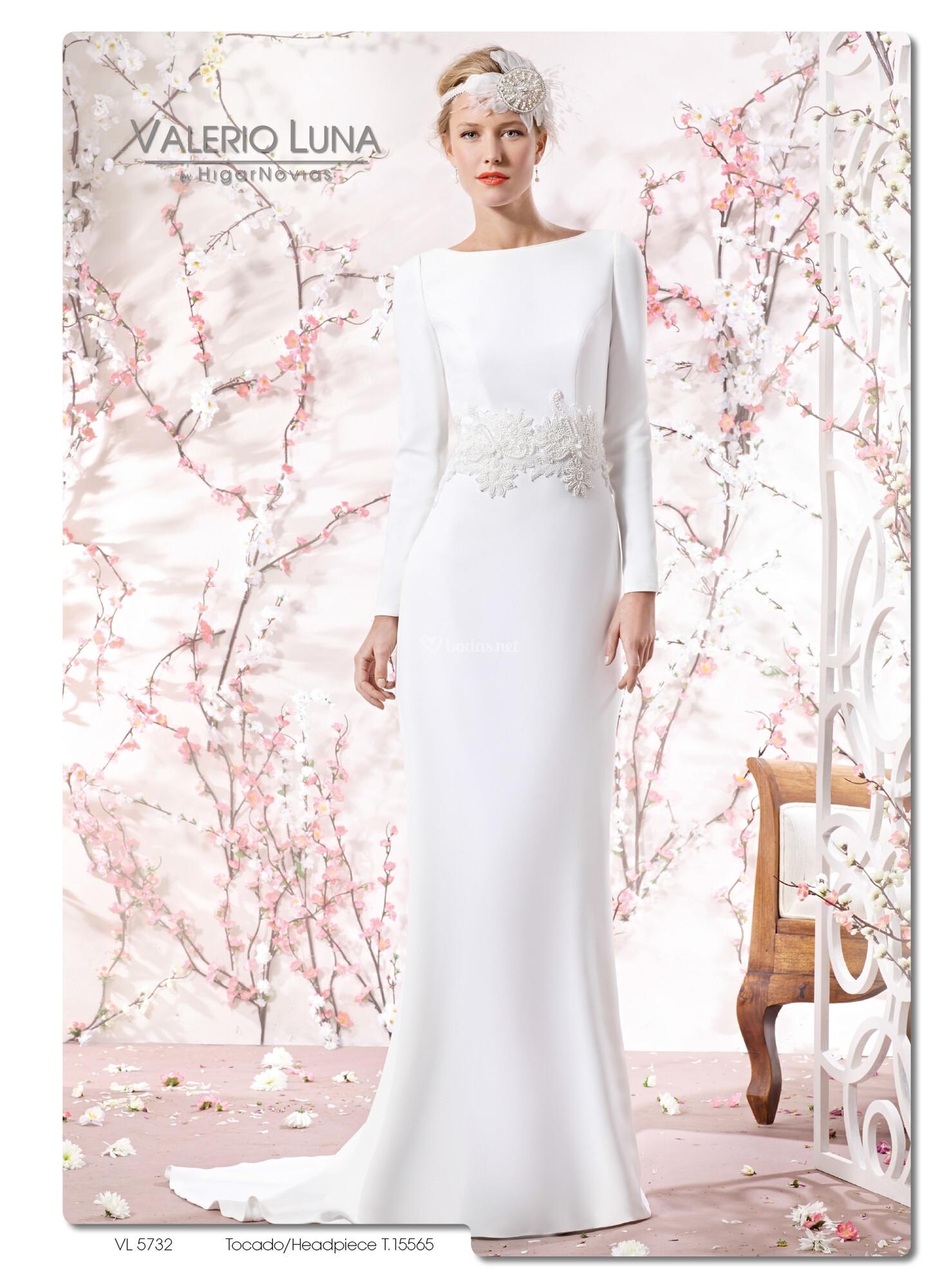 Vestidos novia valerio luna 2016
