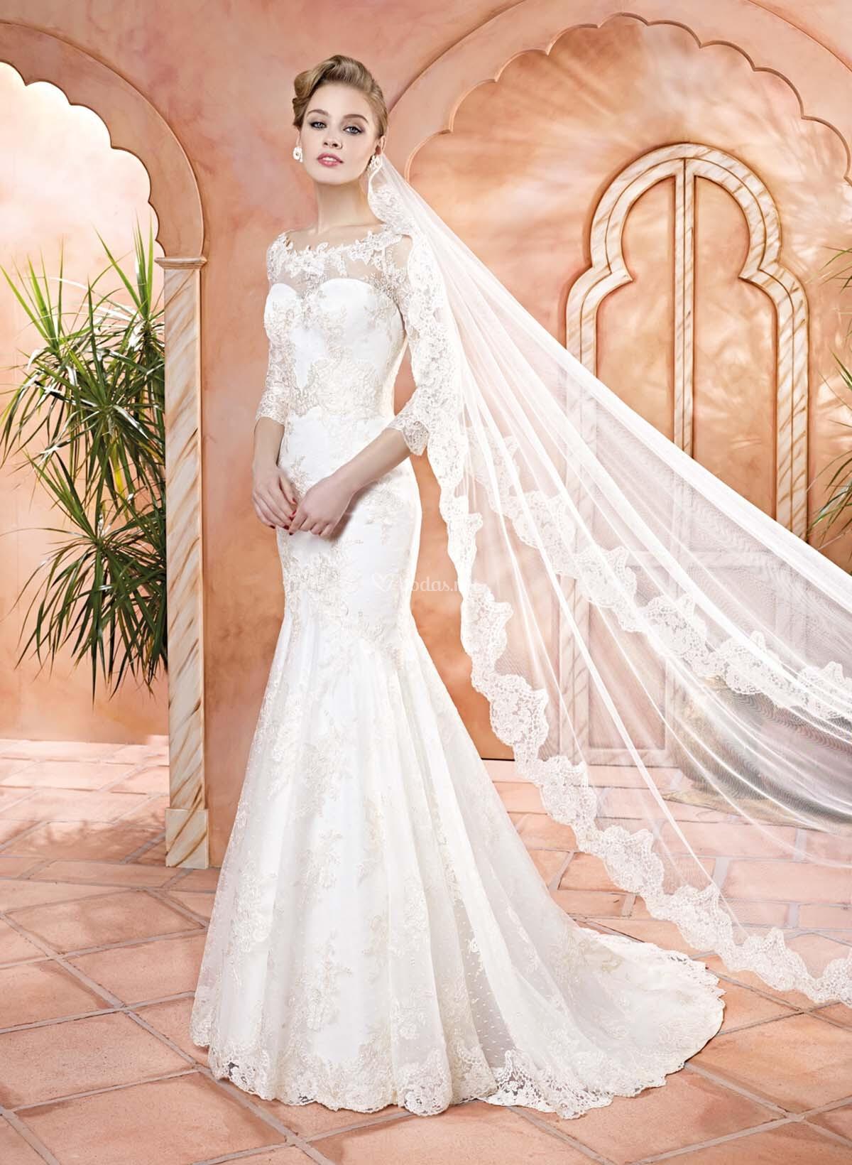 Vestidos de novia corte sirena p gina 13 - Colorazione sirena pagina sirena ...