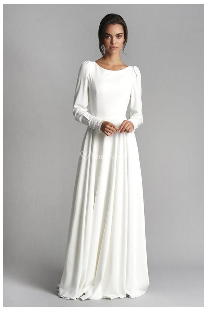 vestidos de novia de veneno en la piel - bodas