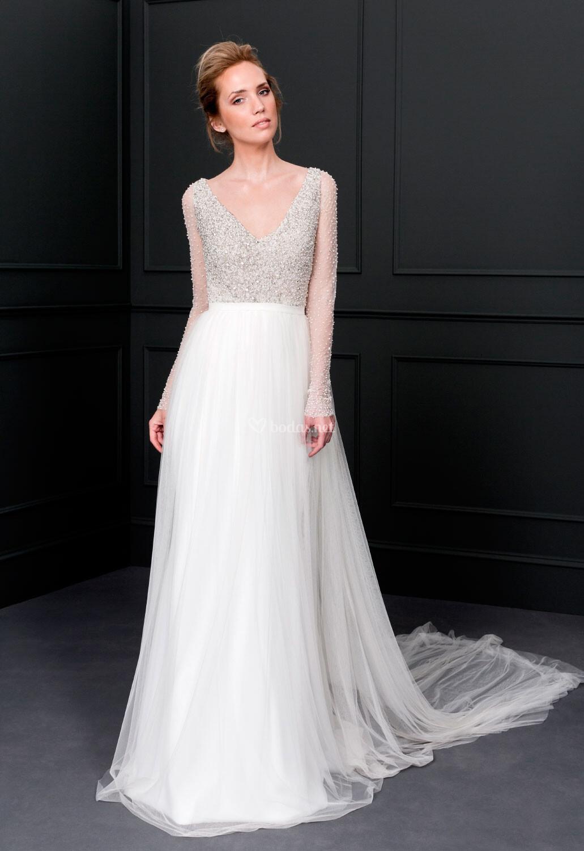 Vestido de novia de victoria vicky mart n berrocal baile - Victoria martin berrocal ...