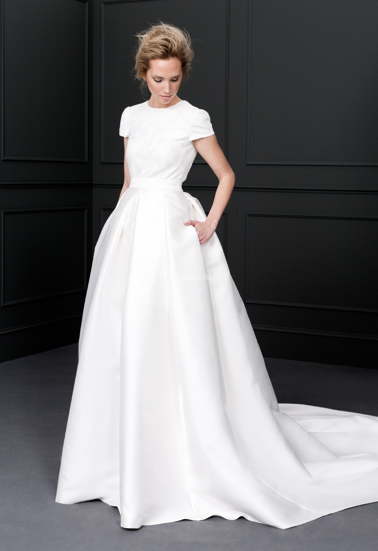 Vestido de novia de victoria vicky mart n berrocal - Victoria martin berrocal ...