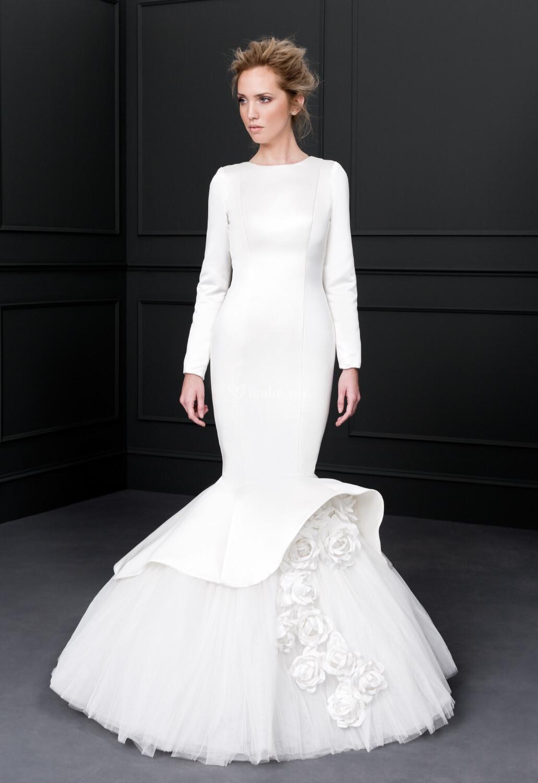 Vestido de novia de victoria vicky mart n berrocal burbuja - Victoria martin berrocal ...