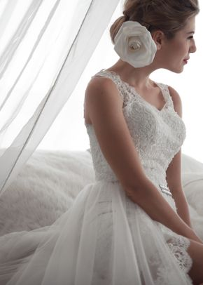 M6212 LYDIE, White Dress
