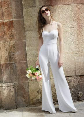 MILA JUMPSUIT, White One