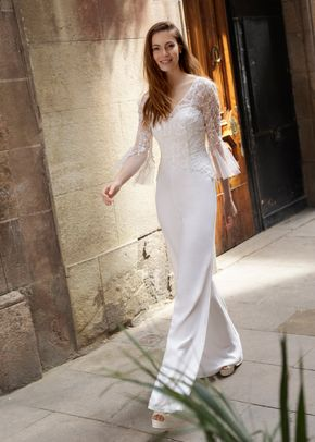MILA JUMPSUIT MYMA TOP, White One