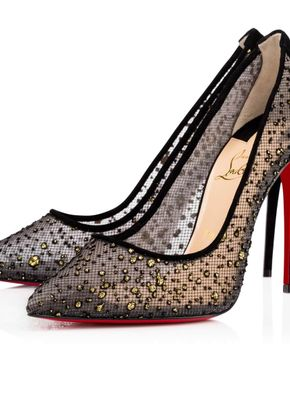 Follies Lace Tulle Mouchete, Christian Louboutin