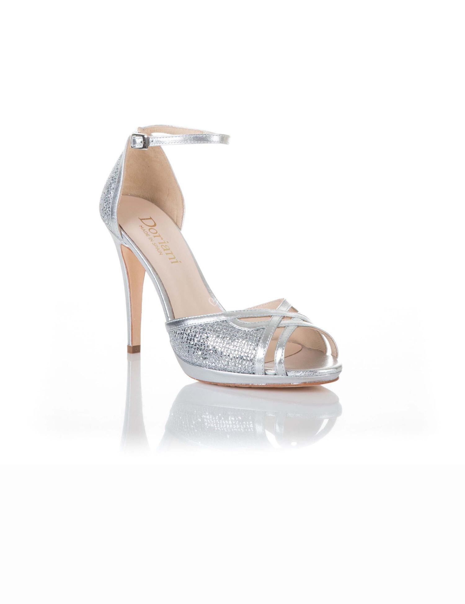 online aquí precio justo 100% genuino Zapato de Doriani - GLITTER LADY PLATA