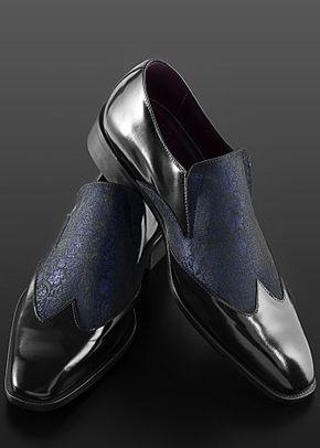 scarpa bicolore blu, Ottavio Nuccio Gala