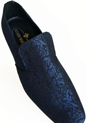 scarpa damascata blu, Ottavio Nuccio Gala