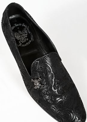 scarpa damascata nera teschio, Ottavio Nuccio Gala