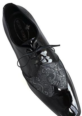 scarpa nera e damascato grigio, Ottavio Nuccio Gala