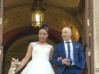 La boda de Clarabel  y Oyaiky 1