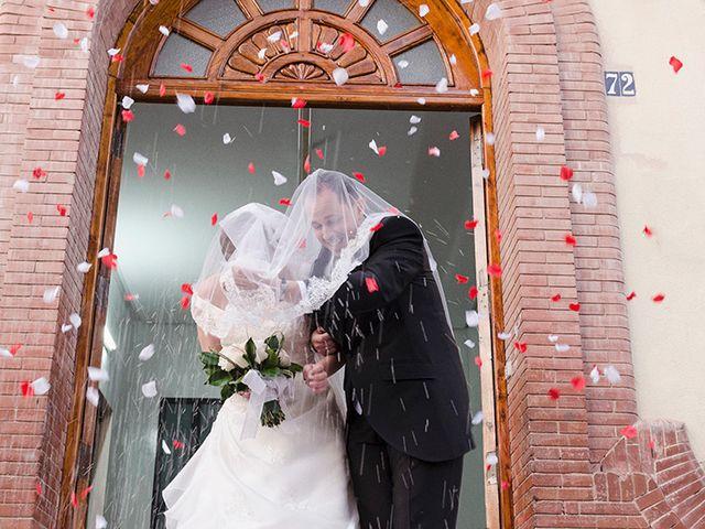 La boda de Yesica y Fernando en Albalat Dels Tarongers, Valencia 1