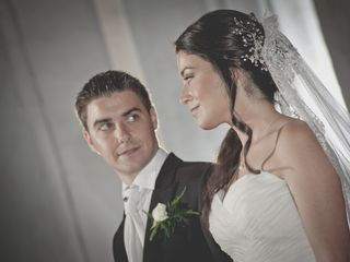 La boda de Javier y Rosa